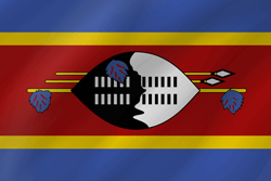 Flag of Swaziland - Wave