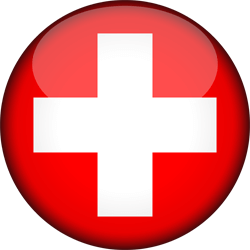 Flag of Switzerland - 3D Round
