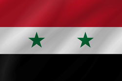 Flag of Syria - Wave