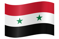 Flag of Syria - Waving