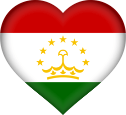 Tajikistan flag icon - free download