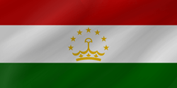 Tajikistan flag vector - free download