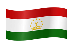 Flagge von Tadschikistan Icon - Gratis Download