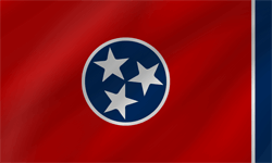 Flag of Tennessee - Wave
