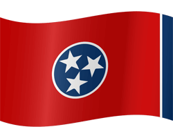 Flag of Tennessee - Waving