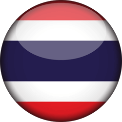 Flag of Thailand - 3D Round