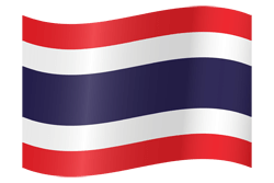 Flag of Thailand - Waving