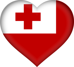 Flagge von Tonga Emoji - Gratis Download