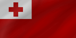 Flagge von Tonga Icon - Gratis Download