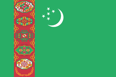 Turkmenistan flag emoji - free download