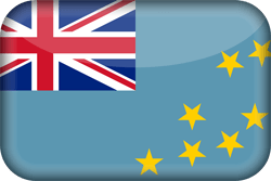 Flag of Tuvalu - 3D
