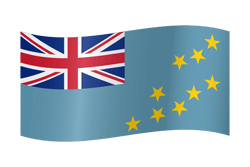 Flagge von Tuvalu Bild - Gratis Download