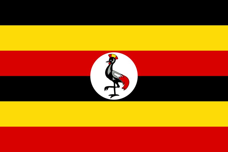 Oeganda vlag package
