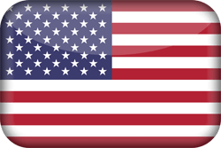 Flag of the United States - Flag of the USA - Flag of America - 3D