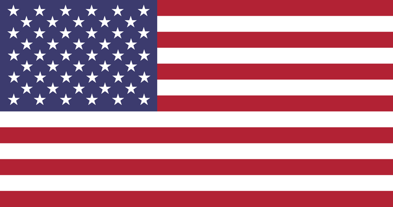 Flag of the United States - Flag of the USA - Flag of America