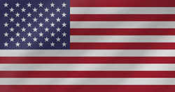 Flag of the United States - Flag of the USA - Flag of America - Wave