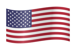 Flag of the United States - Flag of the USA - Flag of America - Waving