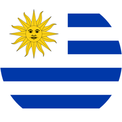 Uruguay vlag icon - gratis downloaden