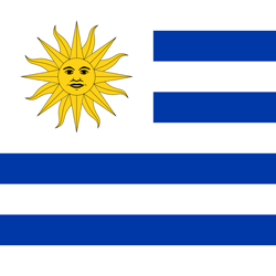 Flag of Uruguay - Square