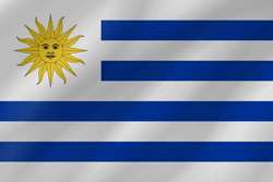Flag of Uruguay - Wave