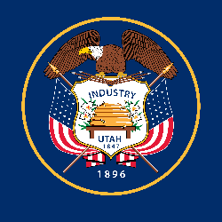 Flag of Utah - Square