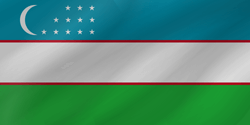 Oezbekistan vlag icon - gratis downloaden