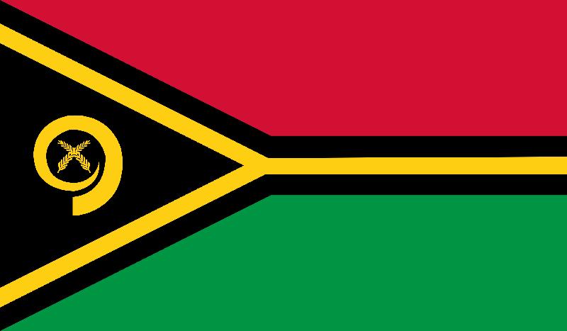 Set complet drapeau Vanuatu