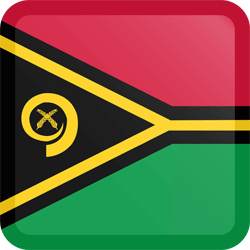 Flag of Vanuatu - Button Square