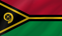 Vanuatu flag icon - free download