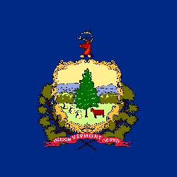 Flag of Vermont - Square
