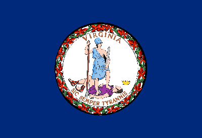 Drapeau de Virginia - Original