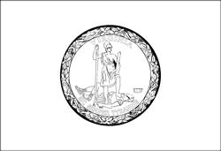 Flag of Virginia - A4