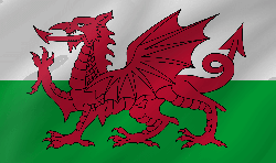 Flag of Wales - Wave