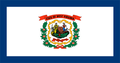 Flagge von West Virginia - Original