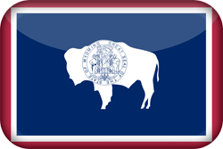 Flag of Wyoming - 3D