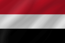 Flag of Yemen - Wave