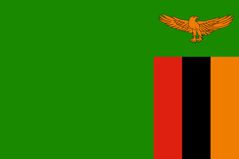 Zambia vlag package
