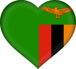 Zambia flag icon - free download