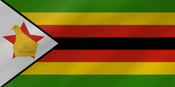 Flag of Zimbabwe - Wave